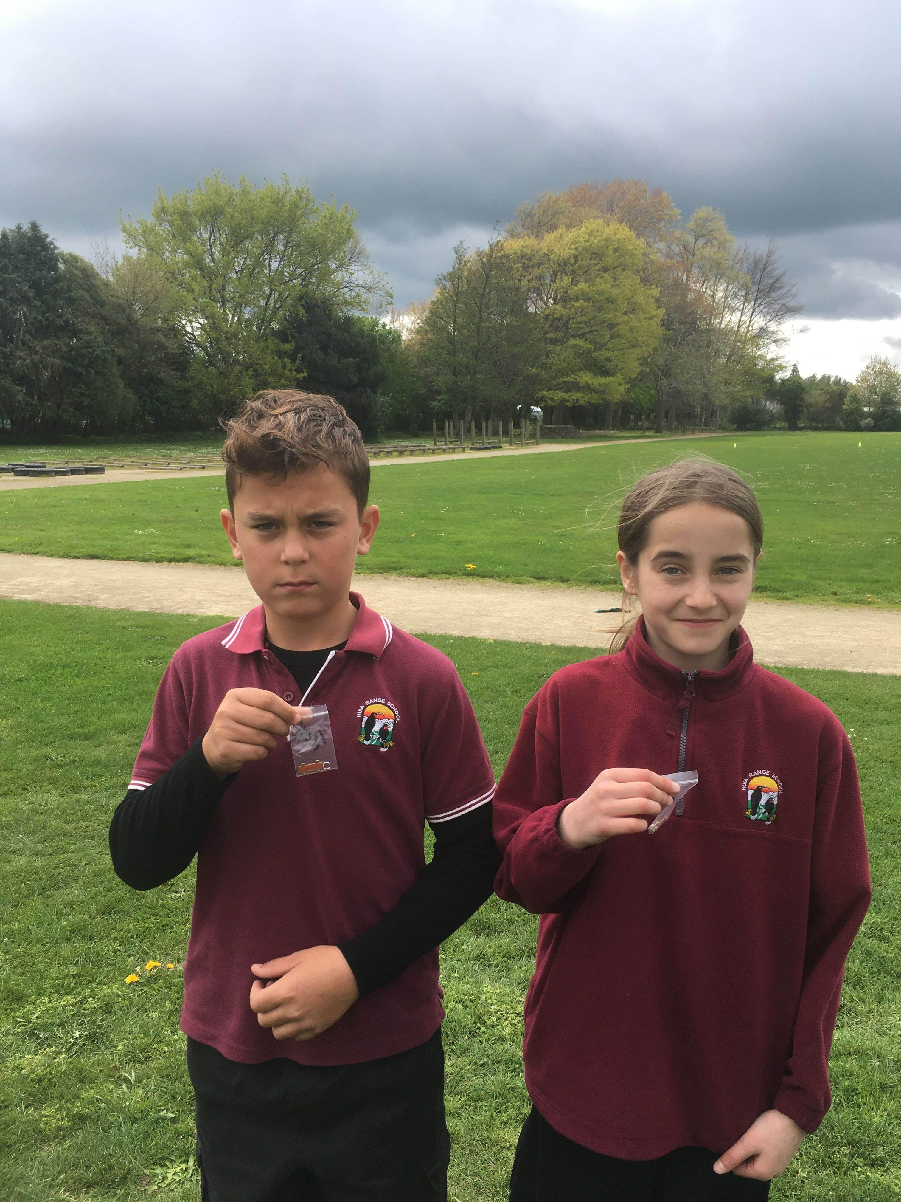 Congratulations to Treye & Keira on receiving their Gold Badges (October 2019)